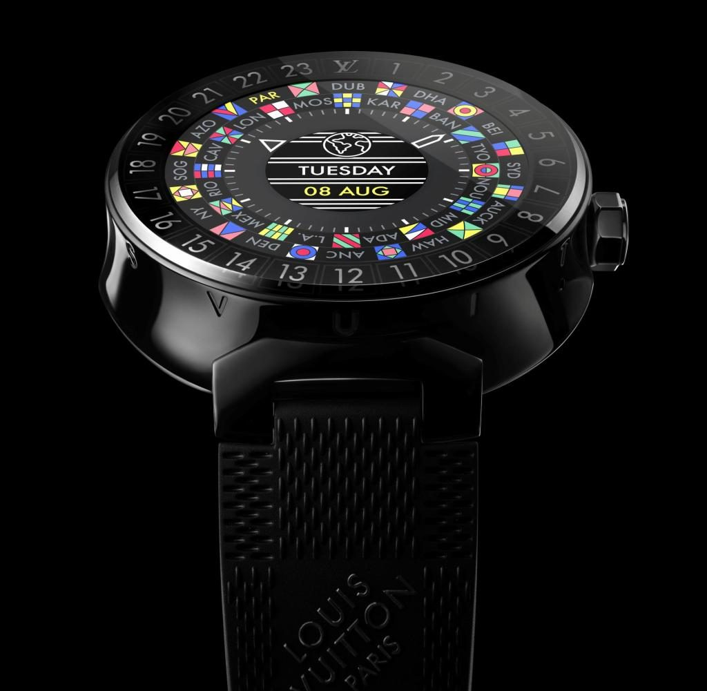 Внезапно: умные часы Louis Vuitton с Android!