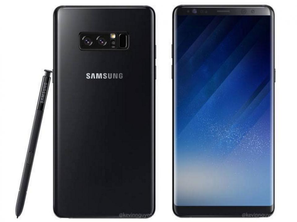 Похоже теперь точно: Знакомьтесь, это Samsung Galaxy Note 8