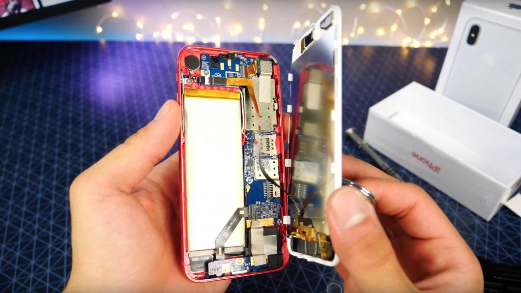 Вот это дичь: распаковка китайского клона iPhone 8