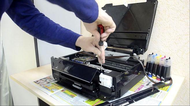 Ремонт и обслуживание принтеров на дому или в офисе с доставкой