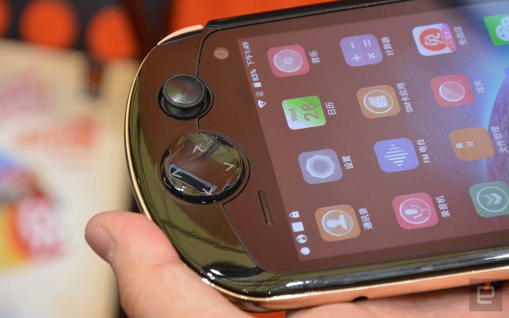 Китайский гибрид PSP и Android для ценителей джойстиков и кнопочек