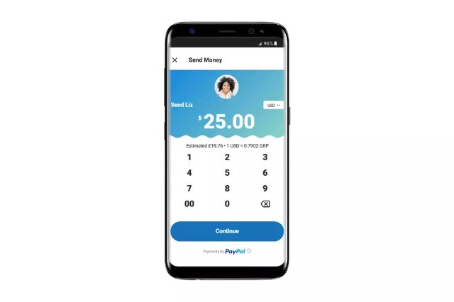 Теперь можно использовать Skype для отправки денег через PayPal другу