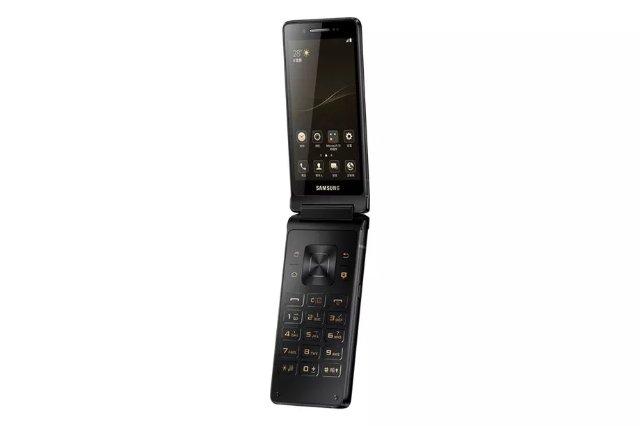 Samsung радует жителей Китая новым телефоном-раскладушкой