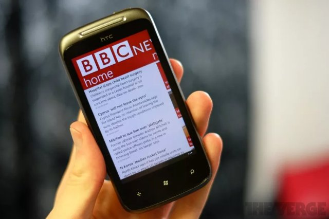 BBC выпускает новый шрифт, предназначенный для мобильных экранов