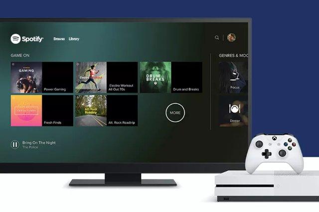 Spotify теперь доступен на Xbox One