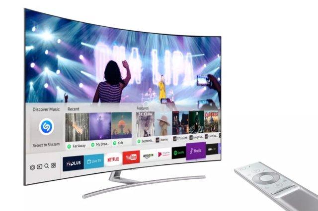 Телевизоры Samsung 2017 теперь могут идентифицировать музыку с Shazam