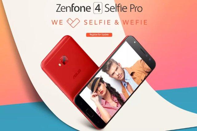 Asus Zenfone 4 предлагает двойные камеры на пяти телефонах
