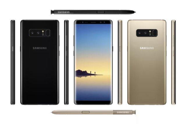 В сети появились возможные характеристики Samsung Note 8