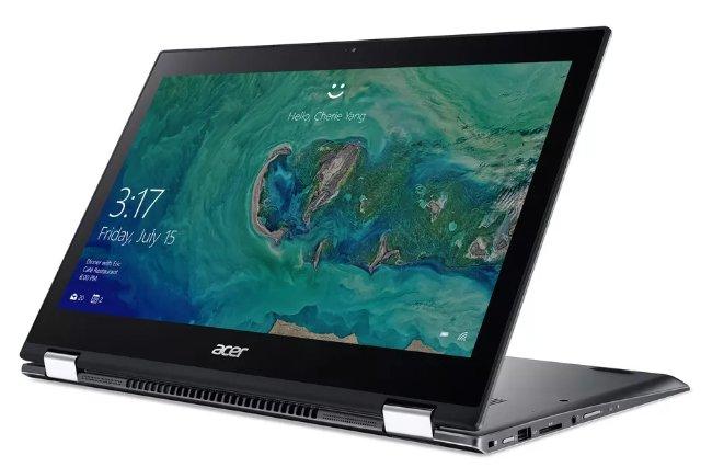 Acer представила новые версии Spin 5