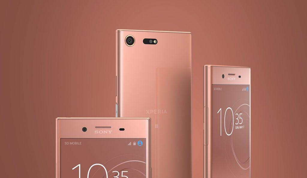 Вещь дня: розовый Sony Xperia XZ Premium