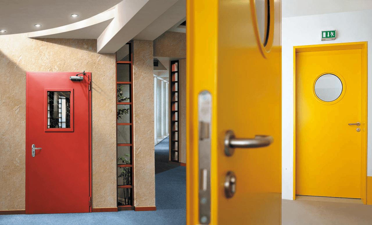 Как выбрать надежные противопожарные двери