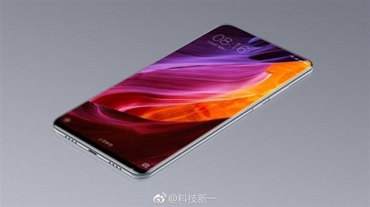 Слух: Xiaomi Mi Mix 2 будет ещё безрамочнее