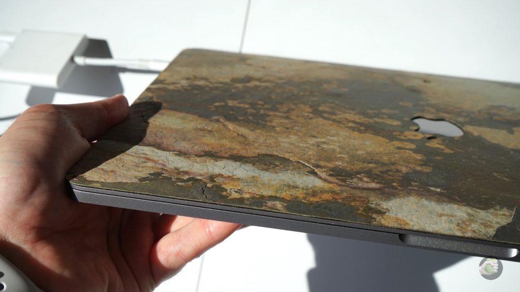 Relic Form — пробуем покрытие для MacBook из камня!