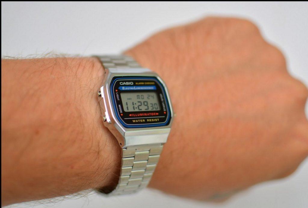 Вещь дня — часы Casio A-168WA-1