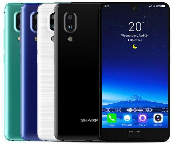 Новый безрамочный Sharp Aquos S2 выглядит лучше, чем iPhone