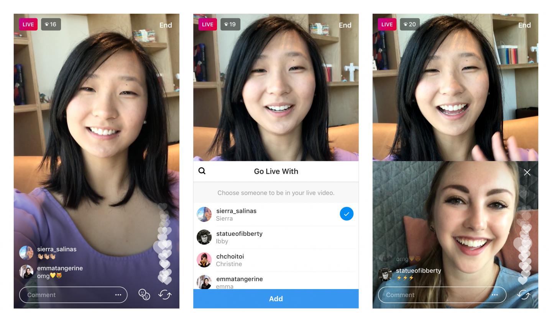 Это обновление Instagram выводит Live на новый уровень
