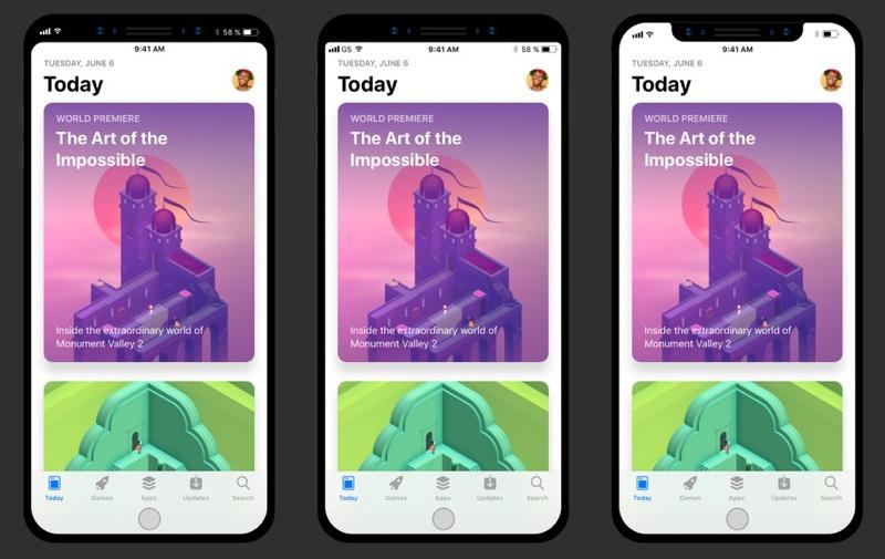Дизайнерский концепт iOS 11 для iPhone 8