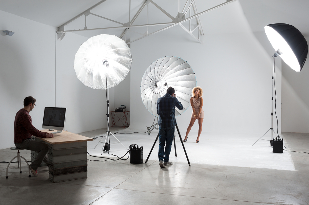 Большой выбор освещения для фотостудий