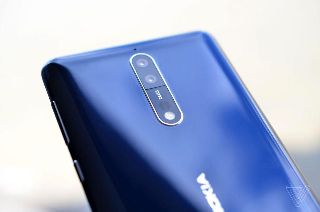 Великолепная восьмёрка — новая Nokia 8 с оптикой Carl Zeiss