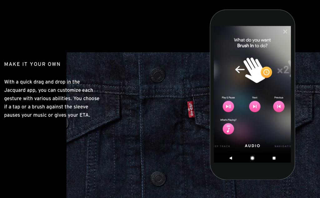 Вещь дня: умная куртка Levi's и Google