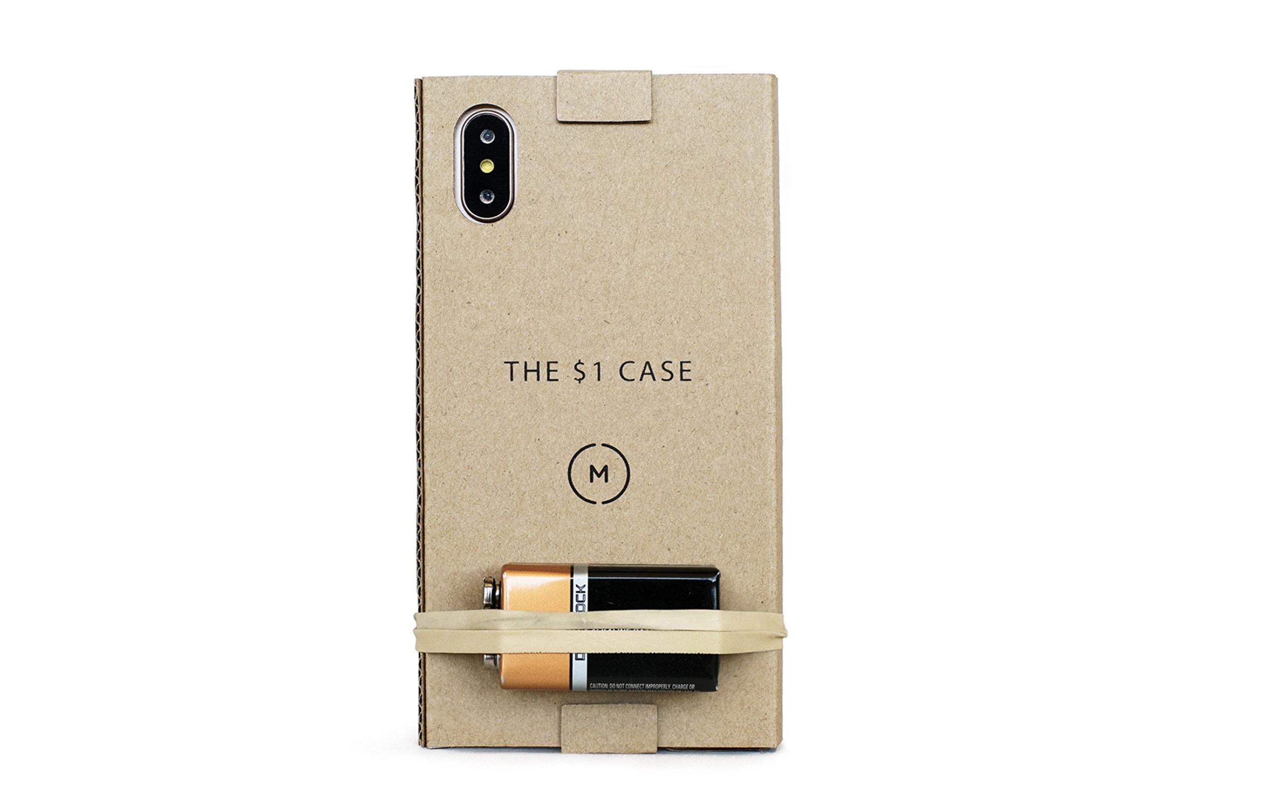 Хайповый чехол из картона для iPhone 8 и iPhone X за 1 доллар