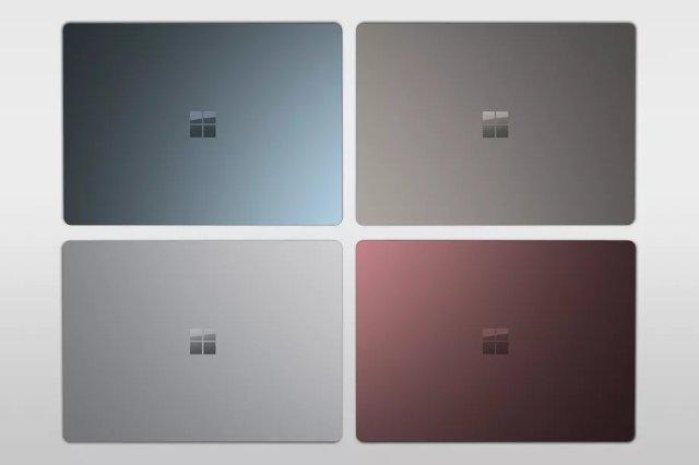 Разнообразная цветовая гамма ноутбуков Microsoft Surface теперь доступна в европейских странах