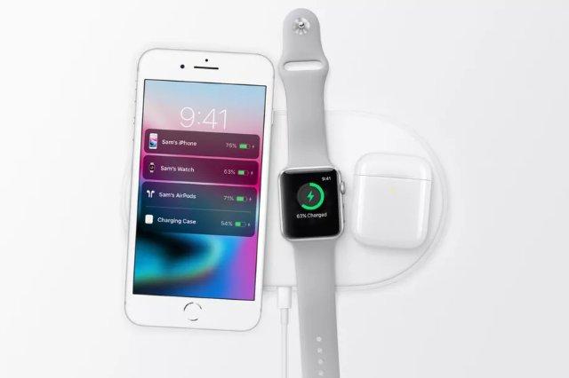 Apple Watch Series 3, по-видимому, может заряжается на различных зарядных устройствах с технологией Qi