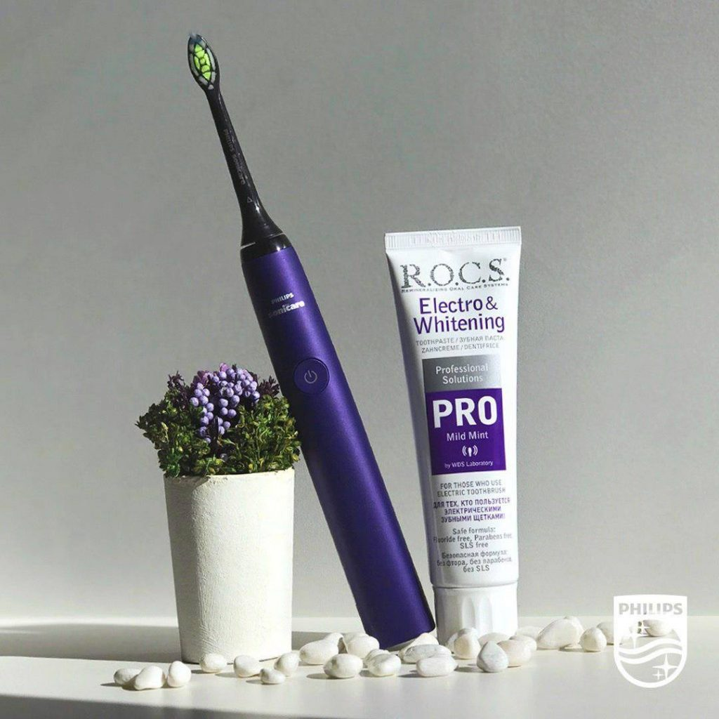 Вещь дня: зубная паста R.O.C.S. PRO Electro & Whitening