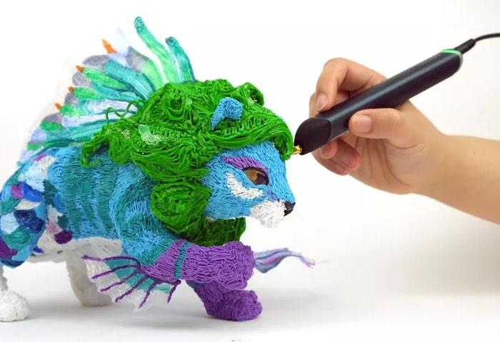 Новая игрушка – 3D ручка для любых фантазий