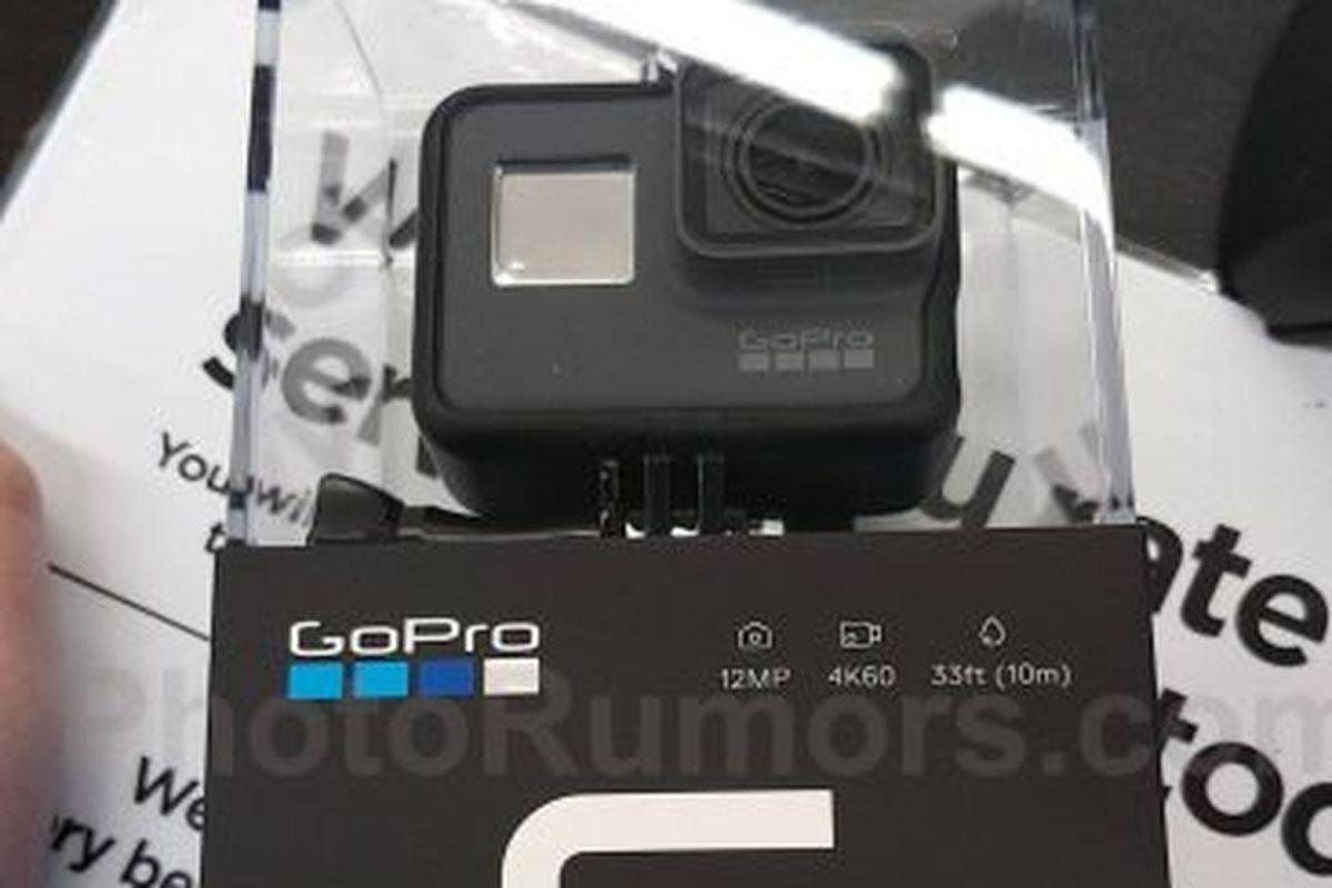 Это новая камера GoPro Hero 6 Black?