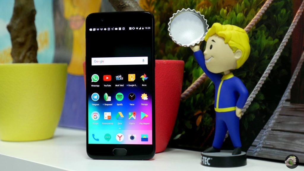 Обзор OnePlus 5: застойный флагман