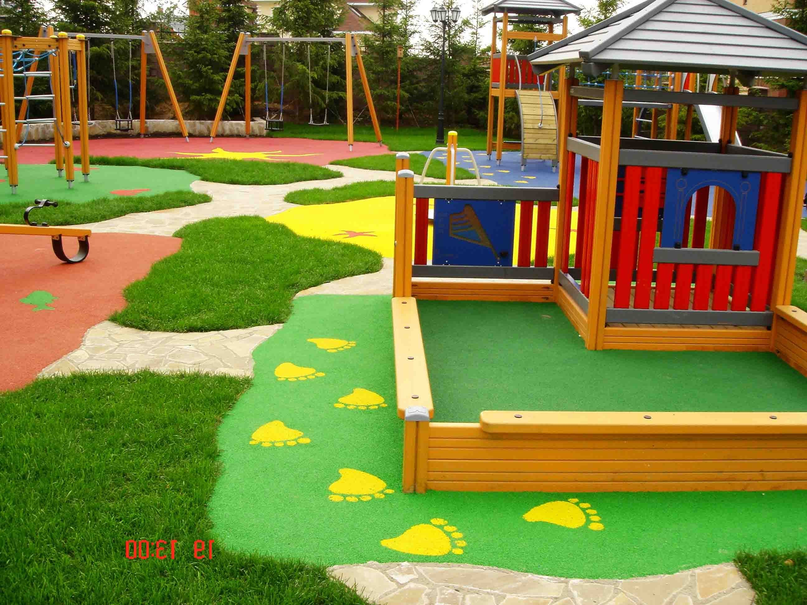Дизайн детскую площадку своими руками
