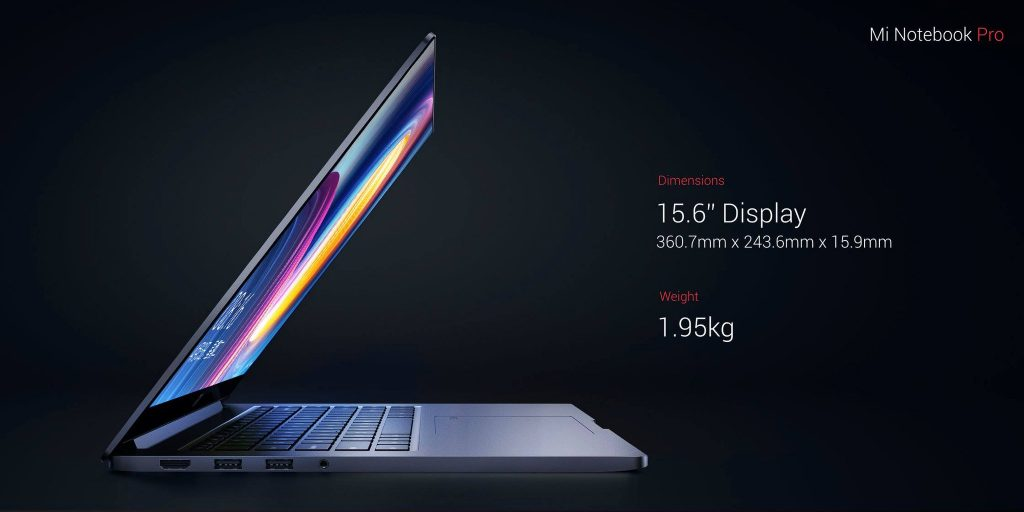 Новый Xiaomi Mi Notebook Pro — как MacBook Pro, но со всеми разъёмами