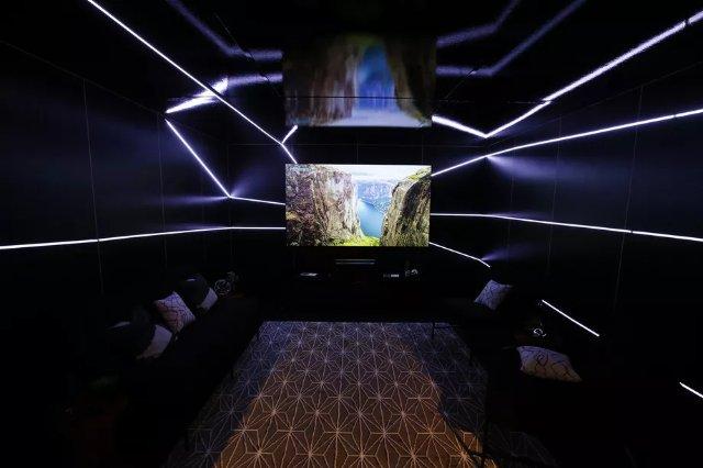 Hisense показывает 100-дюймовый 4K Laser TV за $9,999