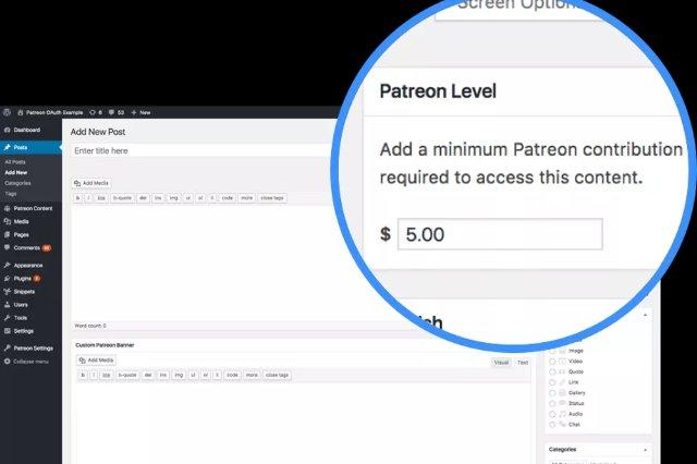 Patreon добавляет поддержку WordPress, Slack и других платформ
