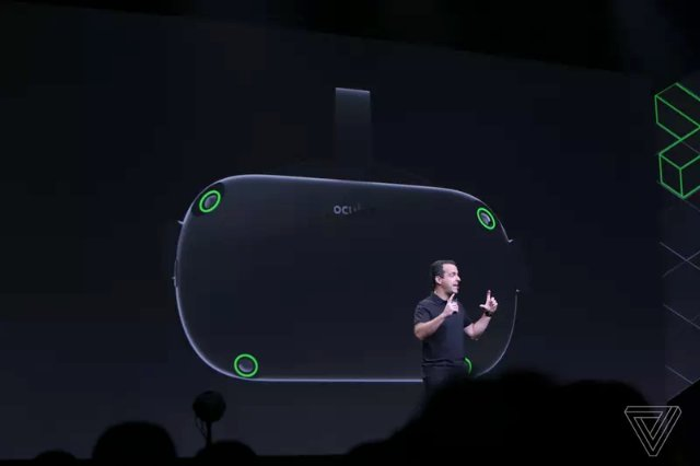 Oculus показывает новый автономный дизайн гарнитуры Santa Cruz с улучшенными контроллерами