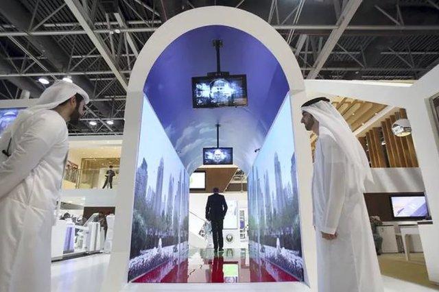 Аэропорт Дубая намерен использовать виртуальные аквариумы для сканирования лица в качестве контрольно-пропускных пунктов безопасности
