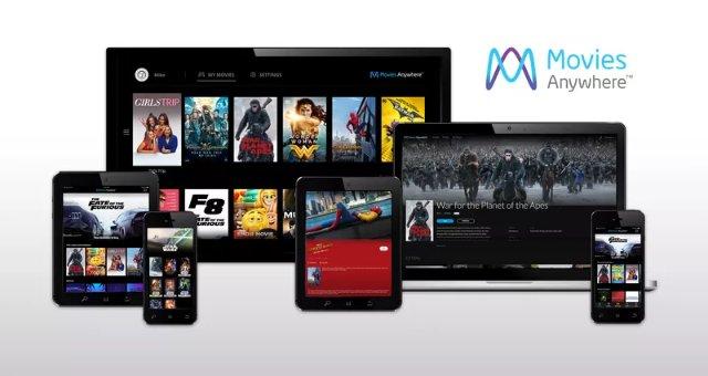 Голливудские студии присоединяются к Диснею, чтобы запустить услугу Movies Anywhere