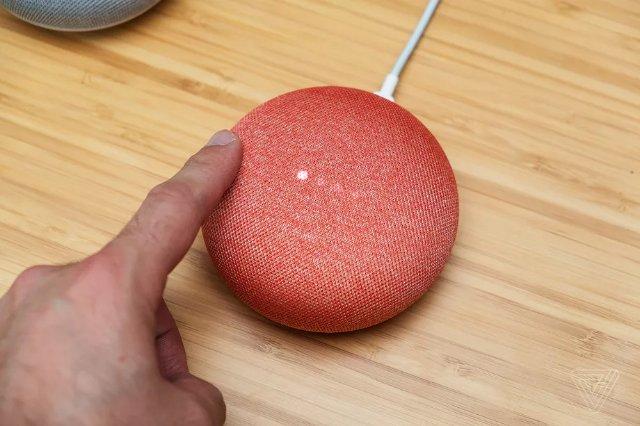 Google исправит ошибку в Home Mini, которая привела к постоянной записи