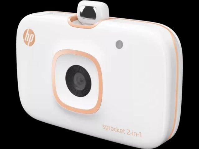 HP привязал свой принтер Sprocket к камере