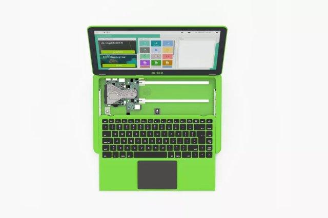 Pi-Top превращает Raspberry Pi в ноутбук, чтобы научить кодированию