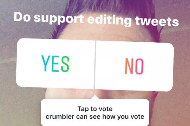 Instagram добавляет стикеры для опроса в Stories