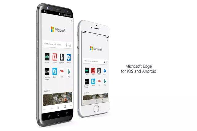 Браузер Microsoft Edge появиться на iOS и Android в бета-версии