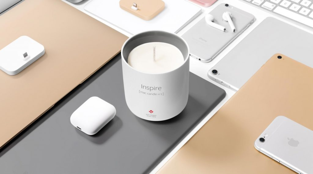Вещь дня: Свеча Twelve South Inspire (mac candle n2)