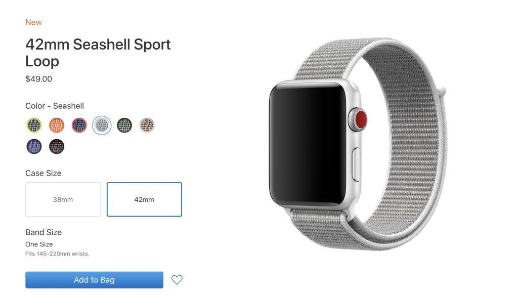 Вещь дня: ремешок Sport Loop для Apple Watch