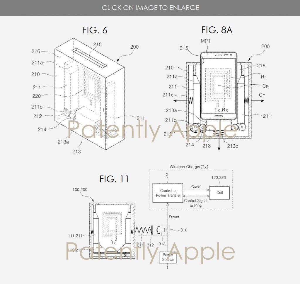 Samsung готовит беспроводную зарядку по мотивам Apple AirPower