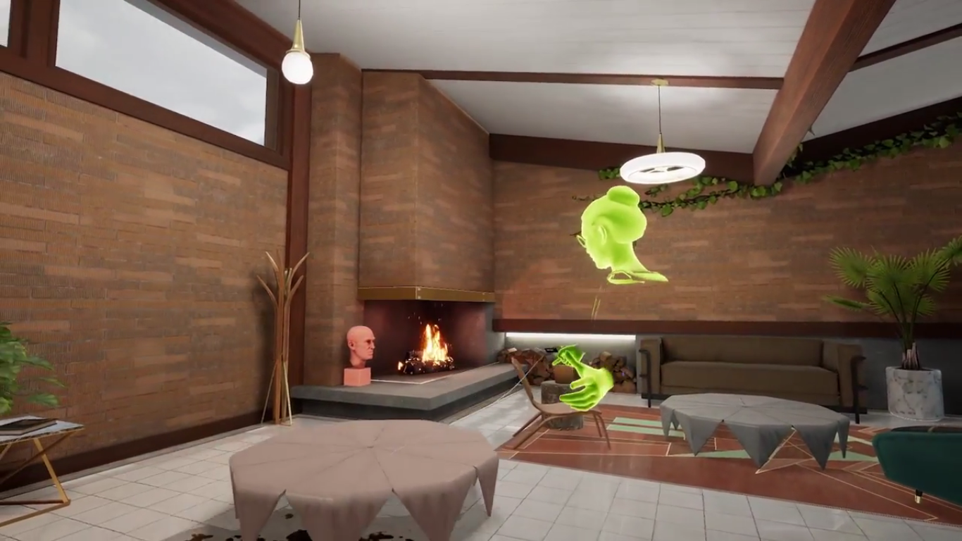 Oculus Rift получает настраиваемую гостевую комнату VR и поддержку рабочего стола