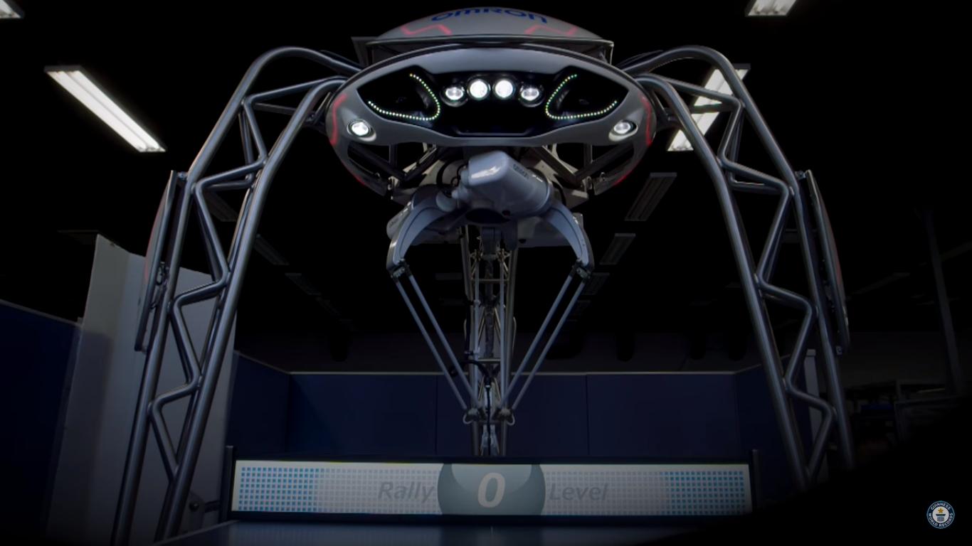Этот робот с искусственным интеллектом усилит ваши навыки пинг-понга