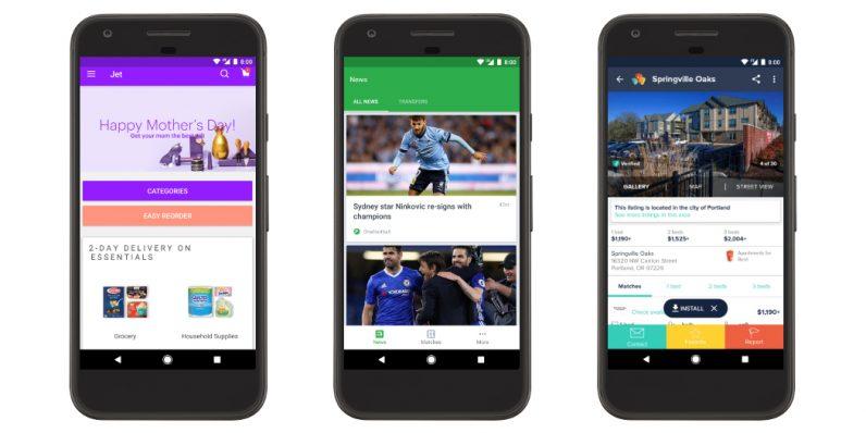 Google Play стал удобнее, приложения можно потестить до покупки
