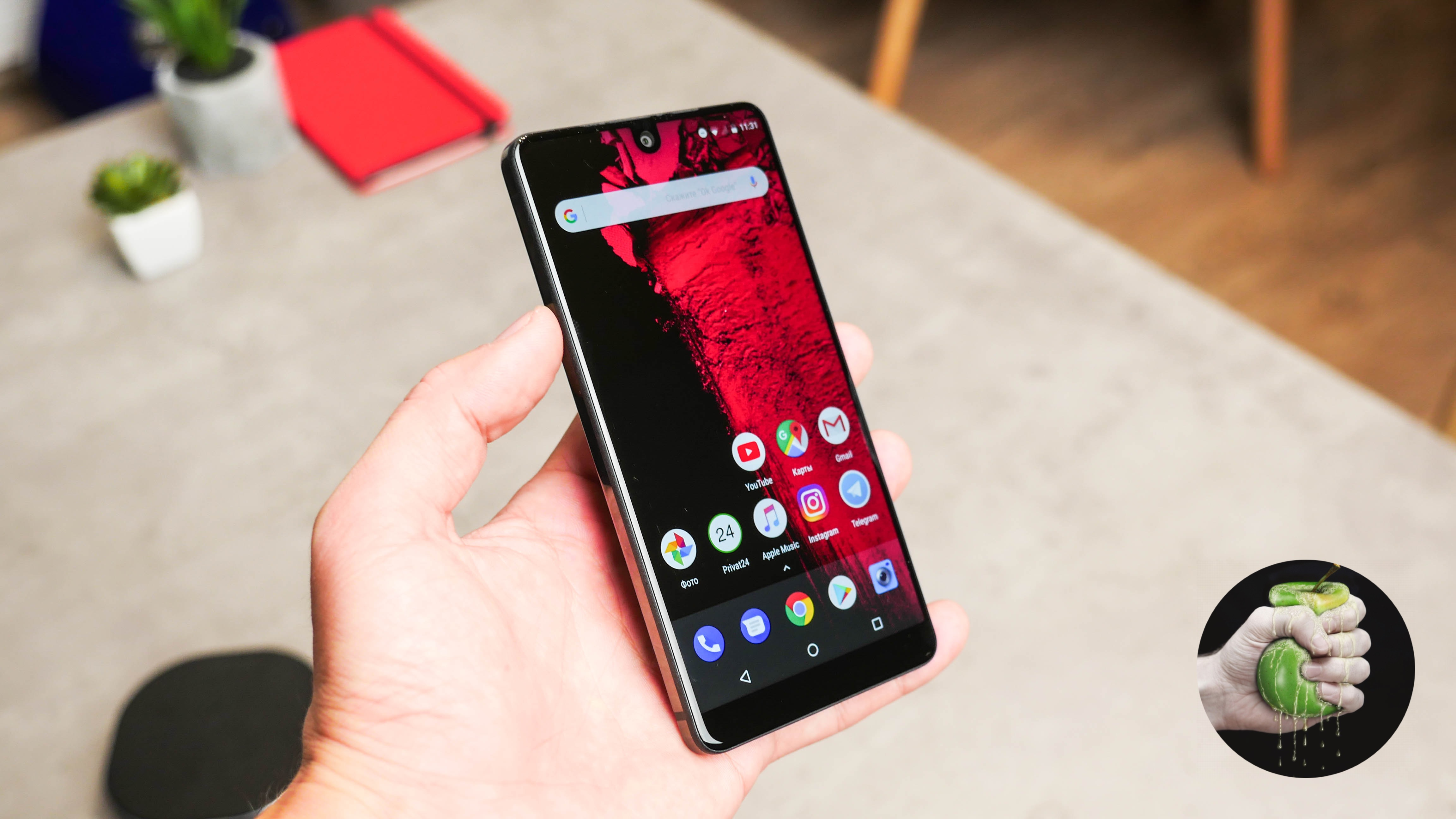 Обзор Essential Phone (PH-1)